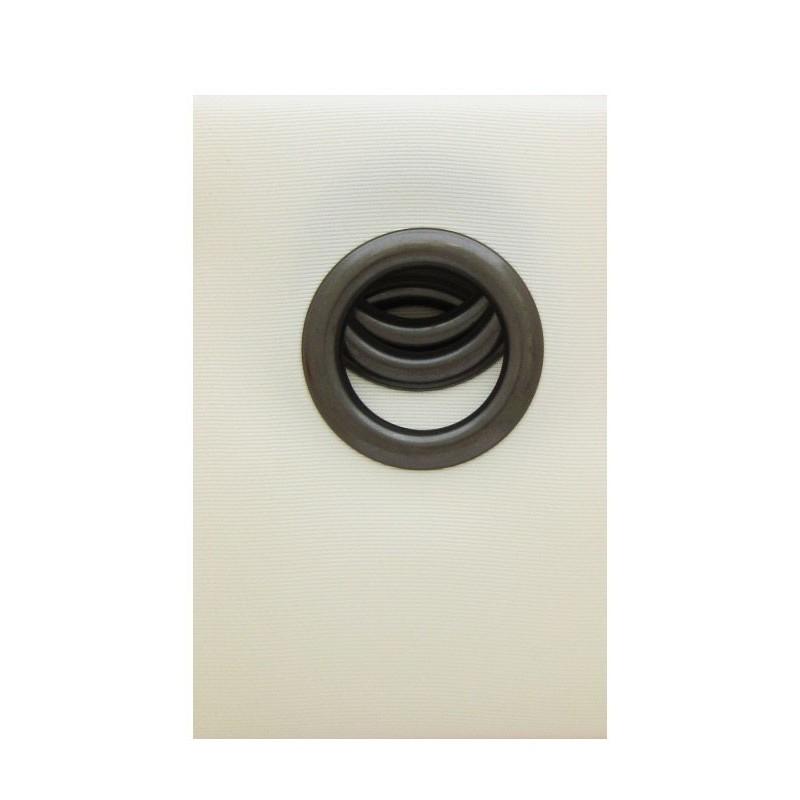 bande oeillet rivetstrip coloris blanc cass ameublement. Black Bedroom Furniture Sets. Home Design Ideas