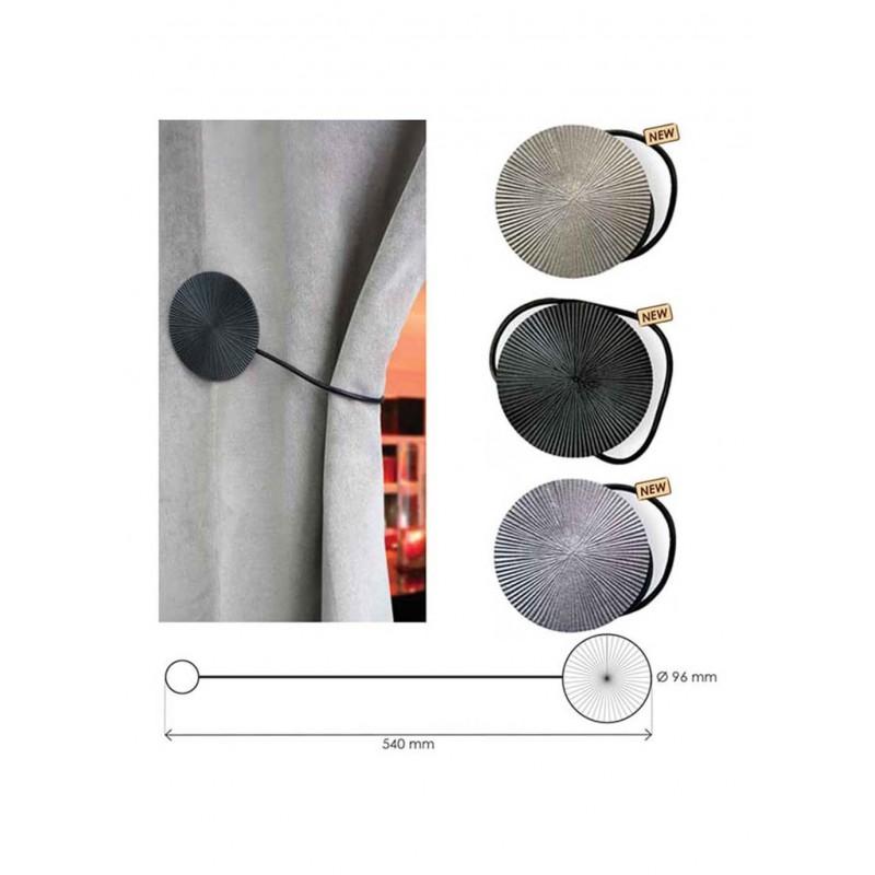 magnet soledad embrasse de rideau l 39 attache magn tique pour vos rideaux. Black Bedroom Furniture Sets. Home Design Ideas